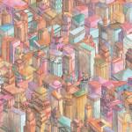 "Brian Foo ""Continuous New York"" $150, unique giclée print 19x13"