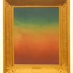 "Jonathan Horn ""Untitled Unframed"" screenprint, 18x15½ $50"