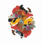 "Matthew Ortega ""Untitled (Mandala)"" $100art print"