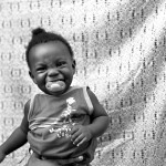 "Mercedes Jelinek Neighborhood Photo Booth - ""Laughing Baby"" - Brooklyn, NY $200light jet print 11x14"