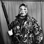 "Mercedes Jelinek Neighborhood Photo Booth - ""Hunter"" - Baton Rouge, LA $200light jet print 11x14"