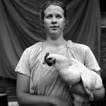 "Mercedes Jelinek Neighborhood Photo Booth - ""Chicken"" - Baton Rouge, LA $200light jet print 11x14"
