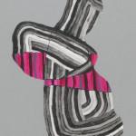 "Ryan Molenkamp ""Woozy""  $175 acrylic & gouache on panel10x14"