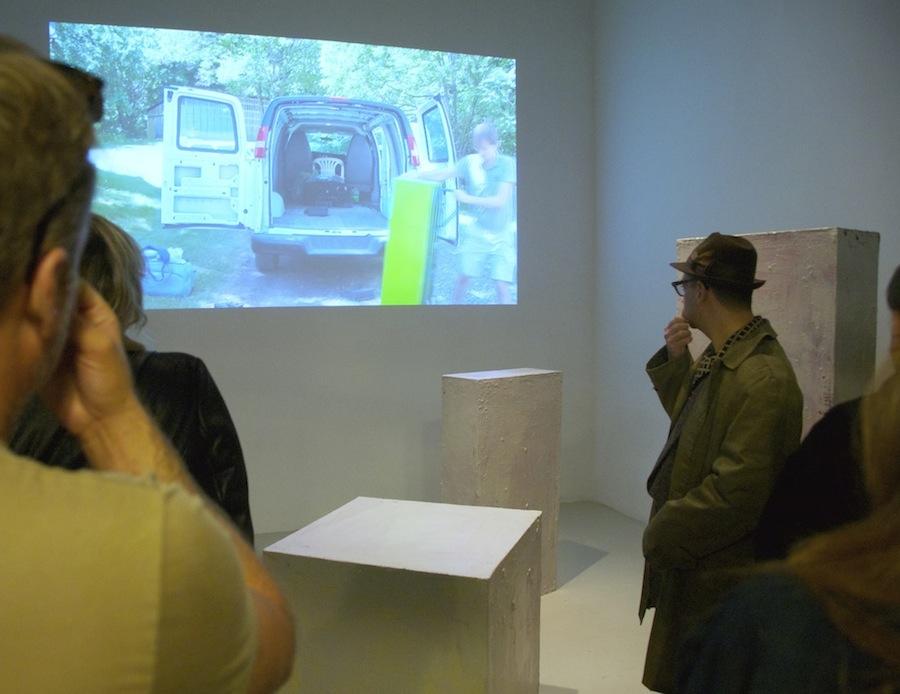 Opening 03. Wojciech Gilewicz, Cuboids. Cuchifritos Gallery, New York