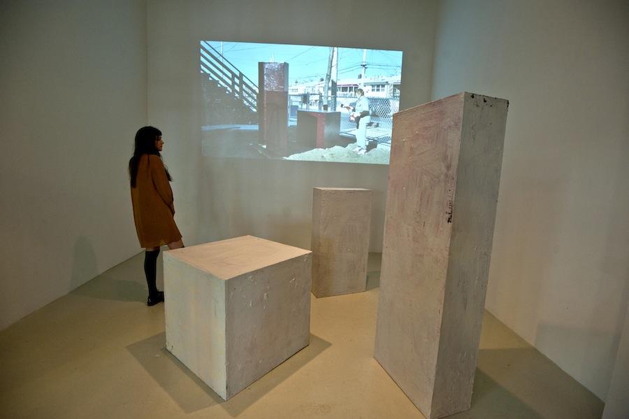 Opening 08. Wojciech Gilewicz, Cuboids. Cuchifritos Gallery, New York