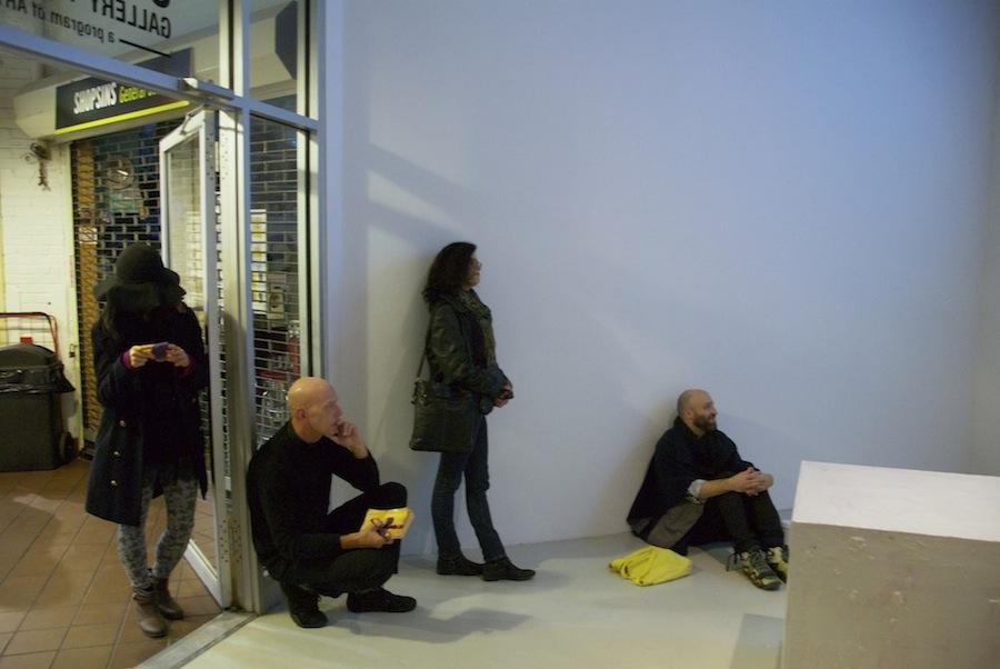 Opening 09. Wojciech Gilewicz, Cuboids. Cuchifritos Gallery, New York